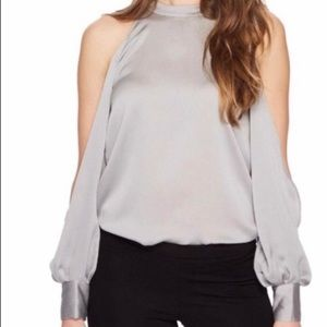 1. State Moon Dust Cold Shoulder Blouse